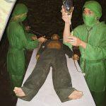 ベトナム戦争を体験できるクチトンネルに入ってミル(MILU)