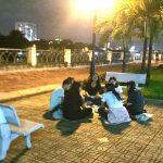 【爆音の正体】ベトナムにある、怪しい夜の公園に行ってミル(MILU)