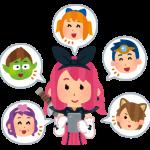 『MILU』での自分自身のキャラクター設定、お忘れなく!
